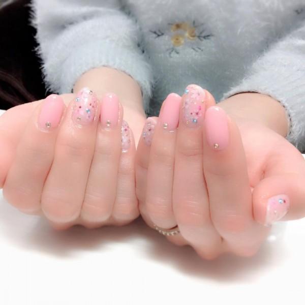 桜のネイルデザイン